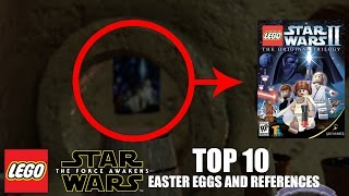 LEGO Star Wars: The Force Awakens - TOP 10 EASTER EGGS AND REFERENCES