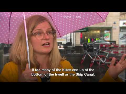 Greater Manchester's bike hire scheme 'misunderstood', says Mobike