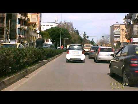 Driving in Tirana