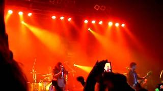Kids In Glass Houses - Gold Blood live Glasgow 06/10/11