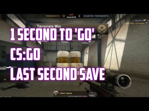 1 Second To 'GO' Kill Save - Counter Strike Global Offensive Moment
