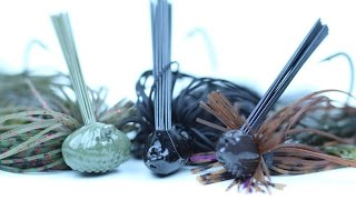 Top 3 Jigs -- For Targeting Year-round Bass