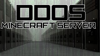What happens when you DDoS a Minecraft server