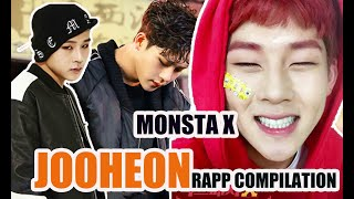 Gambar cover Monsta X Jooheon Rapp Compilation🎤