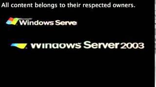 Windows Server 2003 has a Sparta DrLaSp Remix V2