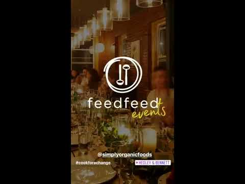 #CookforaChange with Feedfeed X Simply Organic Foods