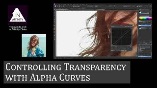 Controlling Transparency with Alpha Curves