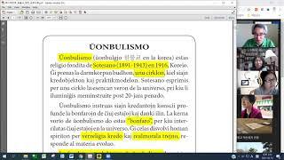01 | La Fundamenta Instruo de Ŭonbulismo | 에스페란토 원불교 정전 공부