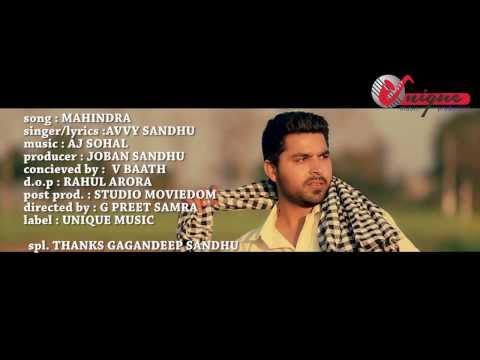 avvy-sandhu---mahindra-|-2014-|-latest-punjabi-song