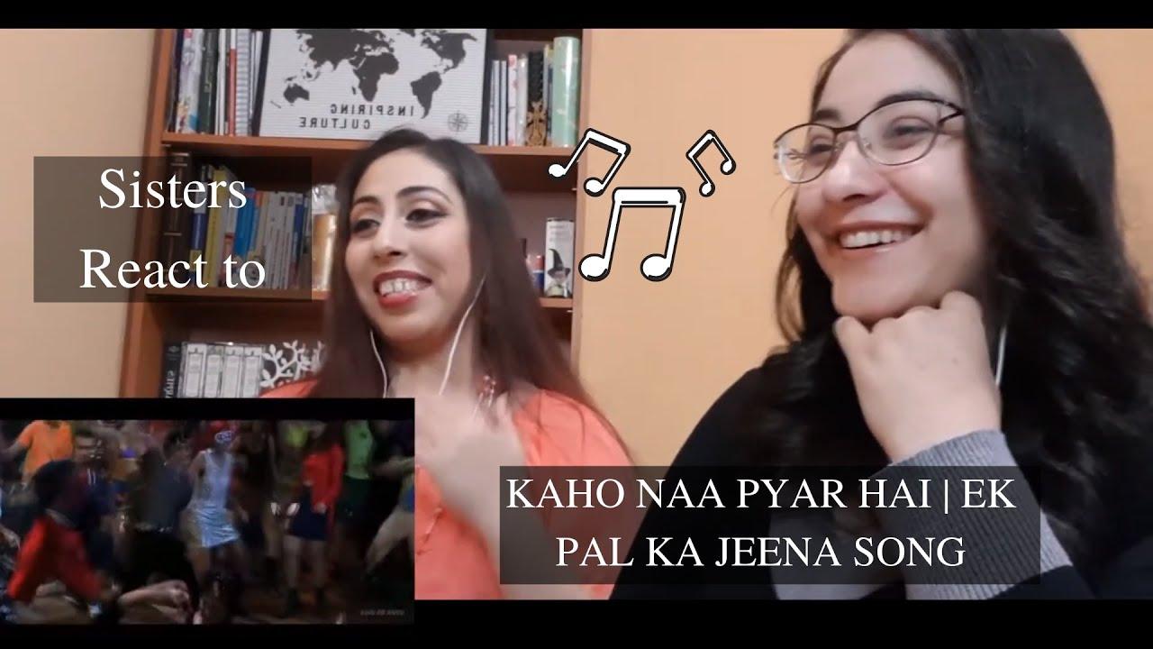 Download OUR REACTION TO -  KAHO NAA PYAR HAI   EK PAL KA JEENA SONG   Hrithik Roshan   Amisha Patel