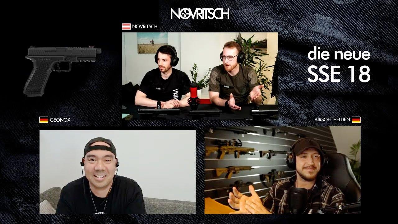 Deutscher SSE18 AIRSOFT Live Stream (mit AIRSOFT HELDEN, GEONOX, GSP AIRSOFT)