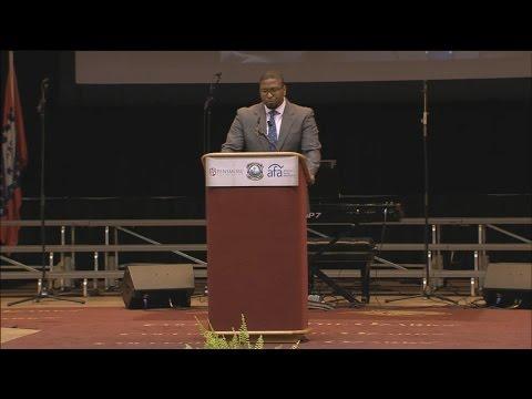 Abraham Hamilton III speaking at The Pensmore National Symposium on Religious Liberty
