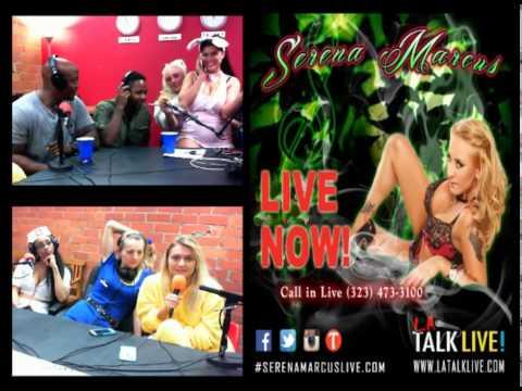 Serena Marcus LIVE! 10-07-14