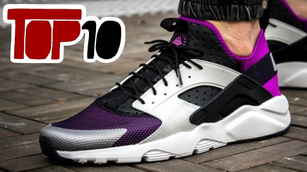 3afefddb0e3be Top 10 Nike Huarache Shoes Of 2016 - YouTube