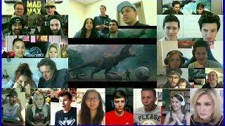 Jurassic World: Fallen Kingdom  Final Trailer Reaction Mashup