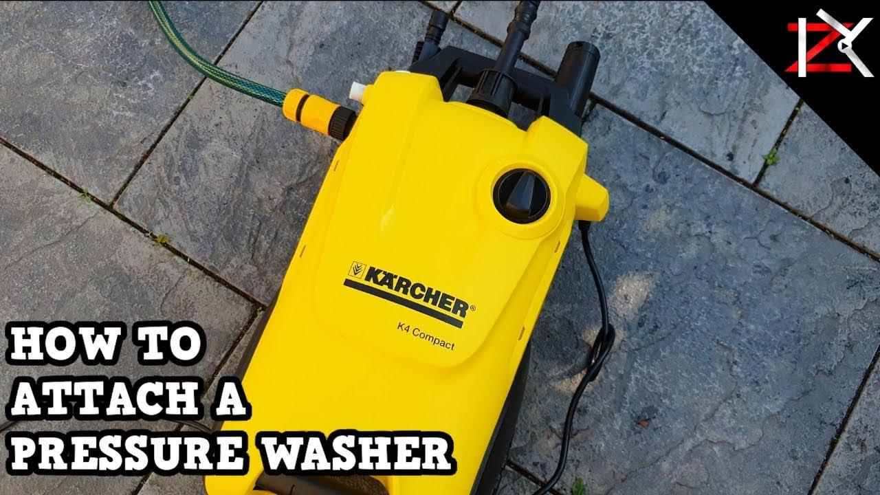 Connecet Karcher Hose Screw On Fitting MPWP100D-2 Mac Allister Pressure Washer