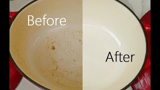 How To Remove Stains Enamel Dutch Oven Pots Pans
