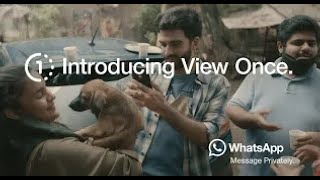 WhatsApp - Introducing View Once – Moving On (Hindi)