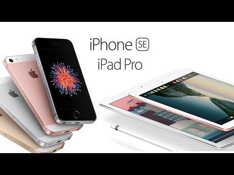 IPhone SE Ve IPad Pro 9.7