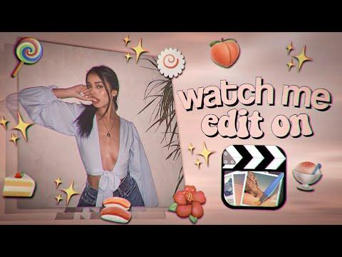 watch me edit cute cut #1 | narra