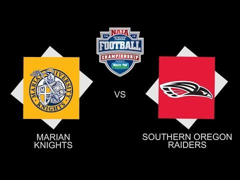 2015 NAIA National Championship Hype Video - Marian vs ...