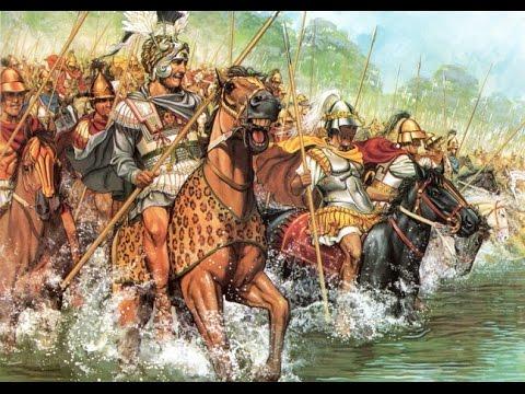 Biographiinf.com | Alexander the Great - Crossing The Hellespont