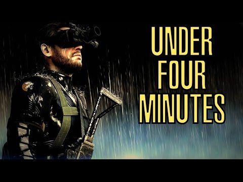 Metal Gear Solid V: Ground Zeroes S Rank Speed Run OLD WORLD RECORD (3:54.870) UNDER FOUR MINUTES