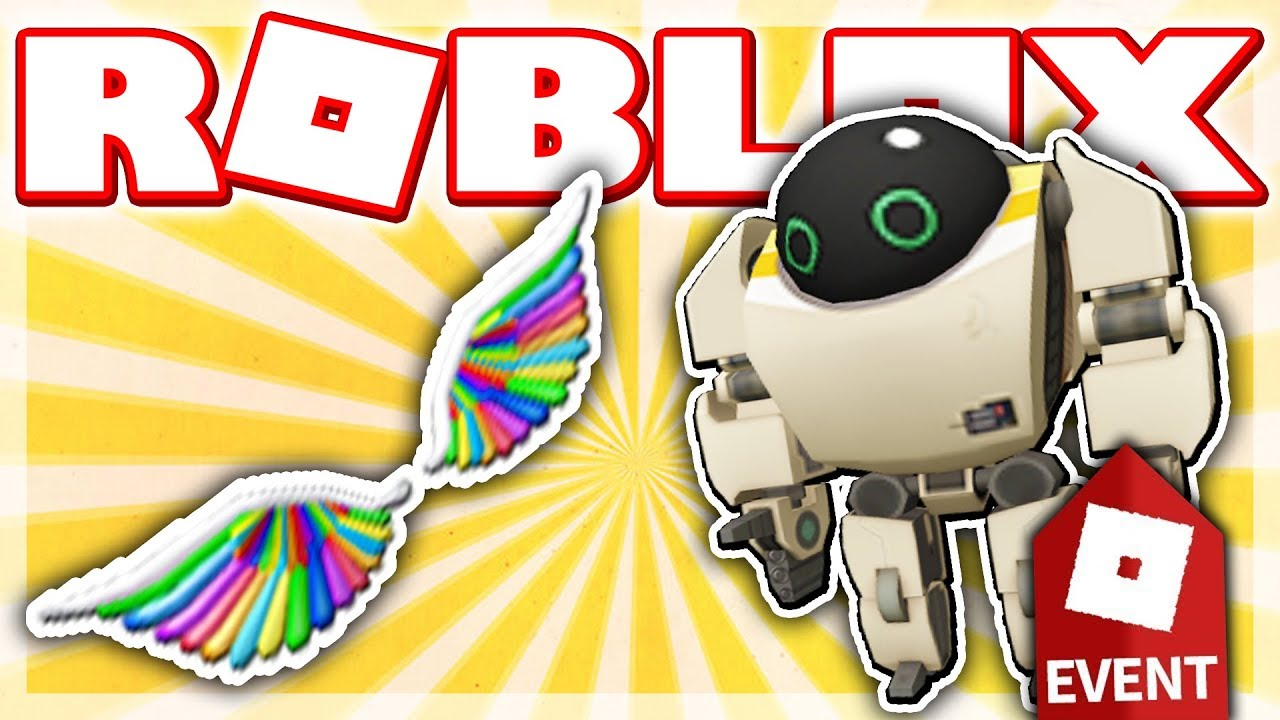 Roblox Rainbow Wings How To Get The 7723 Companion Rainbow Wings Roblox Imagination Event 2018 Make A Cake Youtube