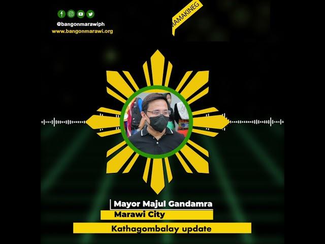 𝗠𝗔𝗥𝗔𝗪𝗜 𝗥𝗘𝗛𝗔𝗕𝗜𝗟𝗜𝗧𝗔𝗧𝗜𝗢𝗡   Mamakineg tano: Kathagombalay update