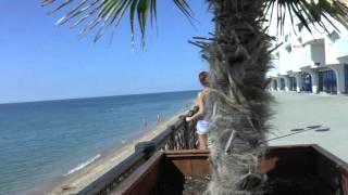 Севастополь  Крым  Кача  Пляж  Осень 2015  Комплекс