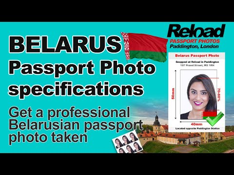 Belarus Passport Photo and Visa Photo specifications and requirements
