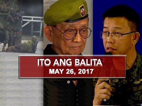 UNTV: Ito Ang Balita (May 26, 2017)