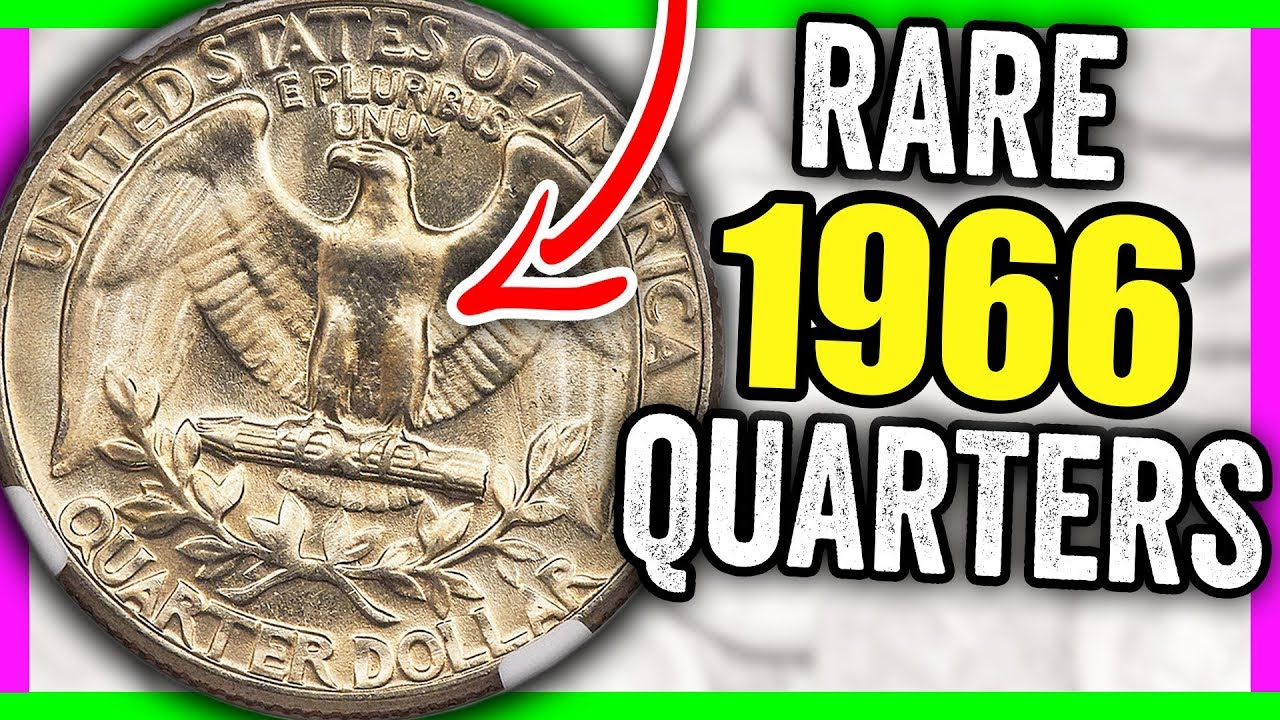 RARE 1966 WASHINGTON QUARTERS WORTH MONEY - VALUABLE COINS TO LOOK FOR!!
