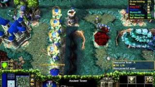 Warcraft 3 Mapa TROLL VS ELF 4 Players