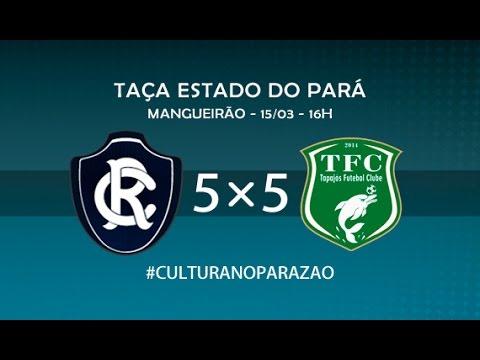 Remo 5 x 5 Tapajós - Parazão 2015