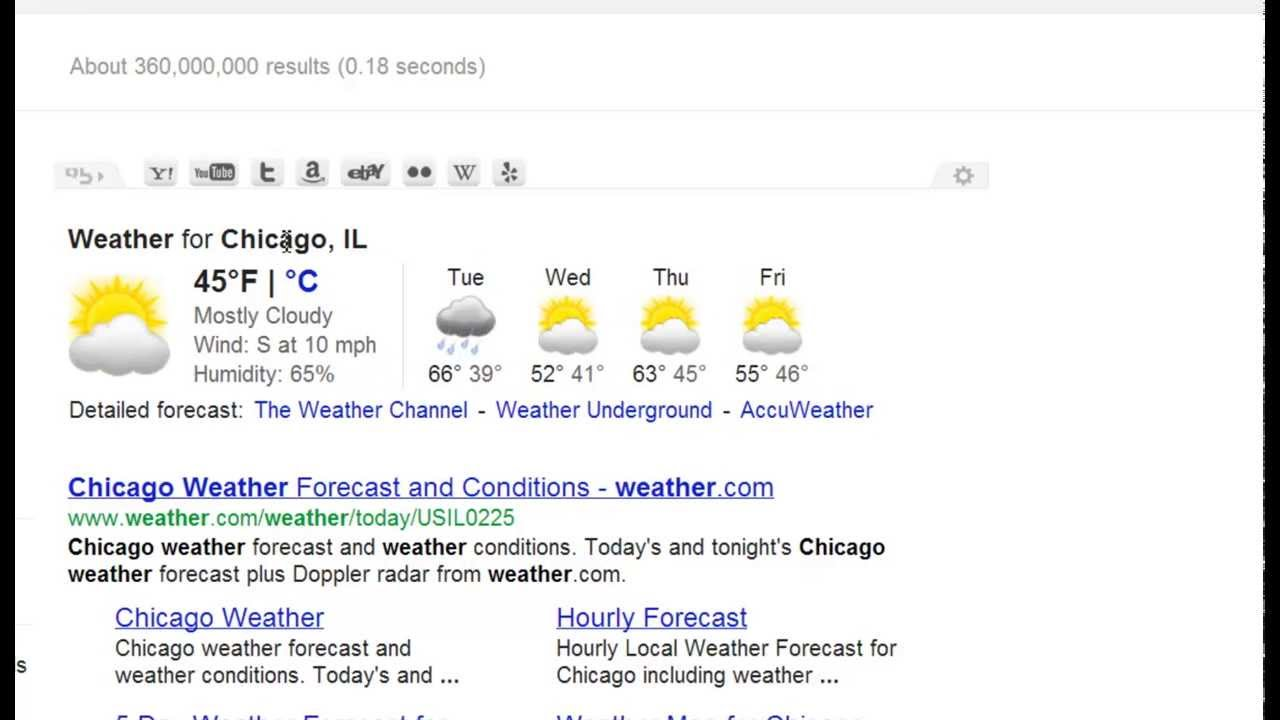 How to Do Local Weather Searches in Google | Video 14