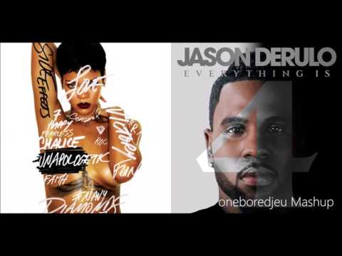 Shine Bright Like Cheyenne - Rihanna vs. Jason Derulo (Mashup)