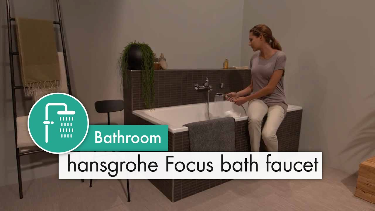 hansgrohe focus bath faucet