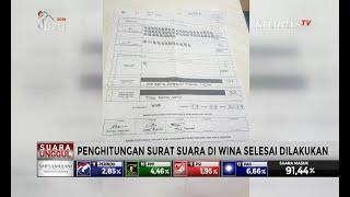 Di Wina, Jokowi-Ma'ruf Raih 528 Suara dan Prabowo-Sandi Raih 128 Suara