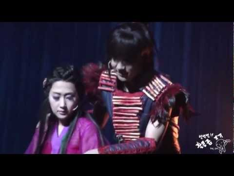 Yesung in Musical NamHanSanSung - Cheating on me (나를속여)