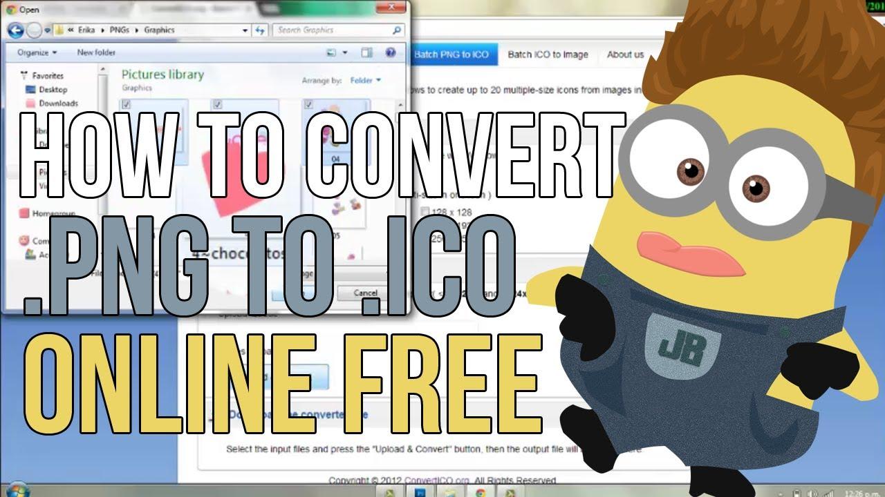 Convert ico to jpg online