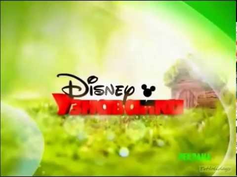 Disney Junior on Disney Channel Russia commercial break bumper (green #2)
