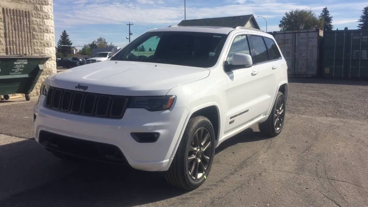 Jeep Grand Cherokee White 2017 >> 2017 White Jeep Grand Cherokee Youtube