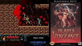 Blades of Vengeance (Sega Mega Drive) - прохождение игры