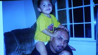 The biological father of the 8-year-old Palmdale boy who was beaten to death took the stand on Tuesday, testifying against his son's killer.