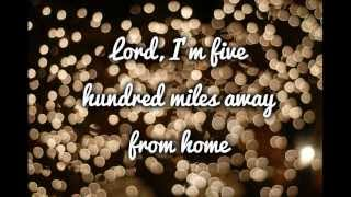 Justin Timberlake feat Carey Mulligan Five Hundred Miles Lyrics
