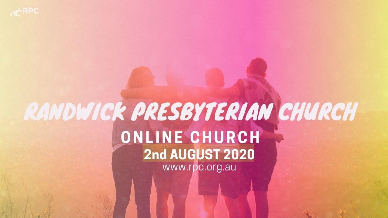 Sunday service 02 08 20