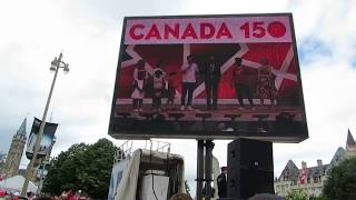 DOWNTOWN OTTAWA CANADA DAY 150 2017