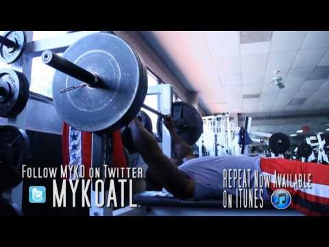 Thomas Jones & Myko - Workout - Florida Gym - Kanas City Chiefs RB