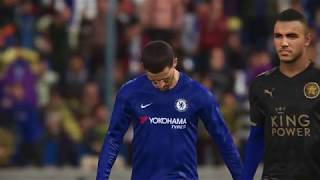 Download Video PES 2018 - Chelsea vs Leicester City full match gameplay live broadcast camera HD60fps MP3 3GP MP4